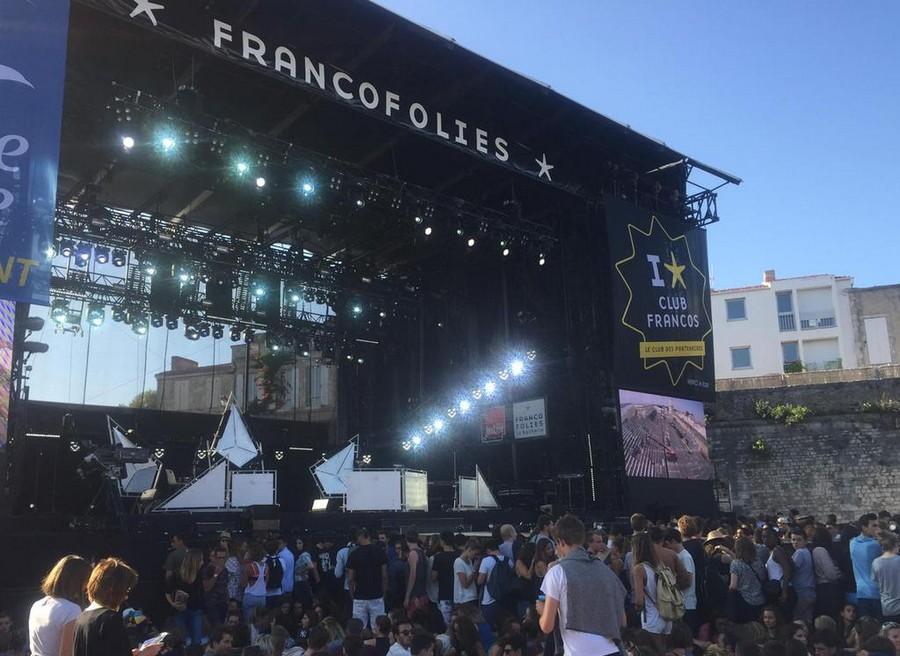 LES CONCERTS DE JOHNNY 'LES FRANCOFOLIES DE LA ROCHELLE 88, 91, 93, 96, 2015' Fakear11