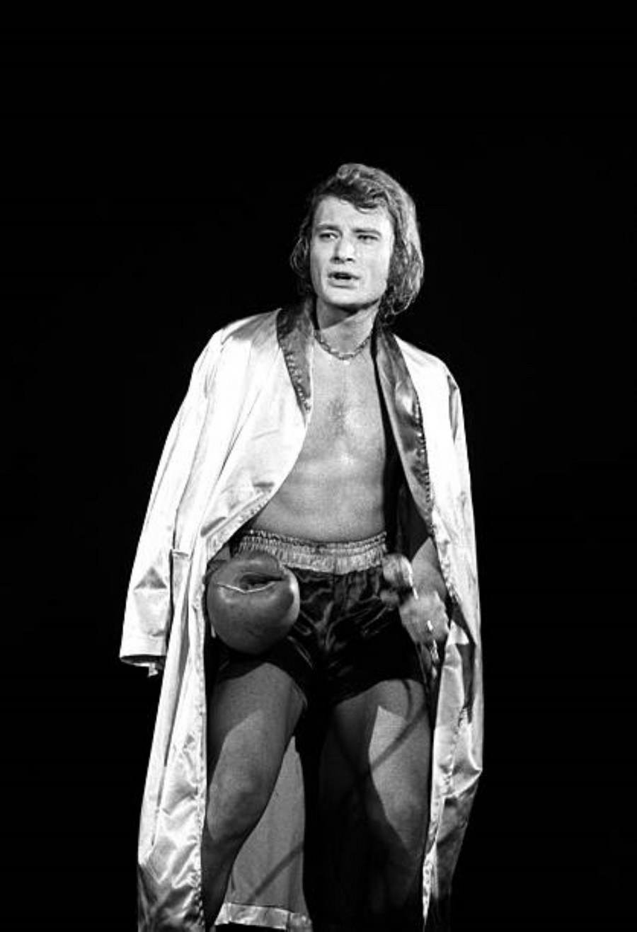 LES CONCERTS DE JOHNNY 'PALAIS DES SPORTS DE PARIS 1969' Getty104