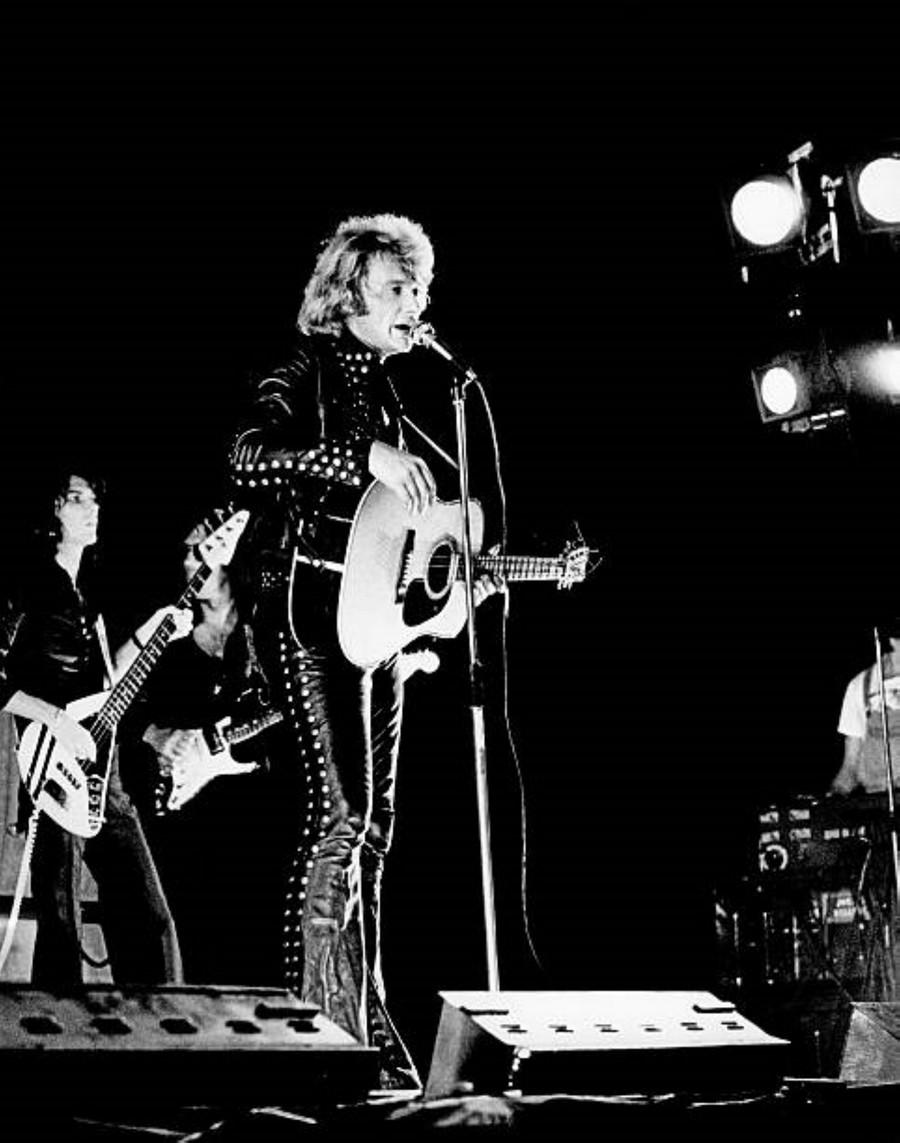 LES CONCERTS DE JOHNNY 'MILAN, ITALIE 1973' Getty108