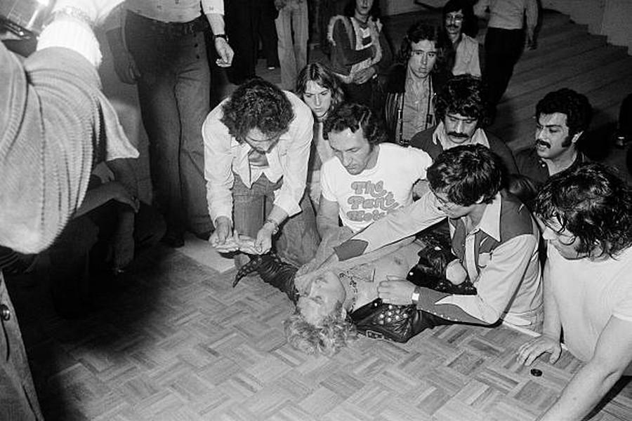 LES CONCERTS DE JOHNNY 'ALENÇON 1974' Getty119