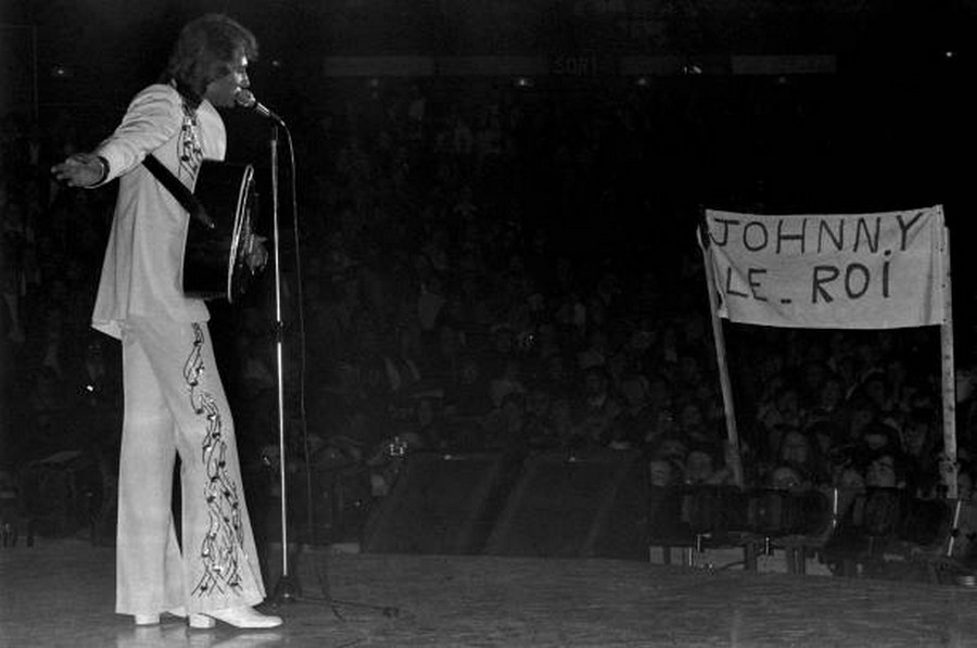 LES CONCERTS DE JOHNNY 'PALAIS DES SPORTS DE PARIS 1976' Getty130