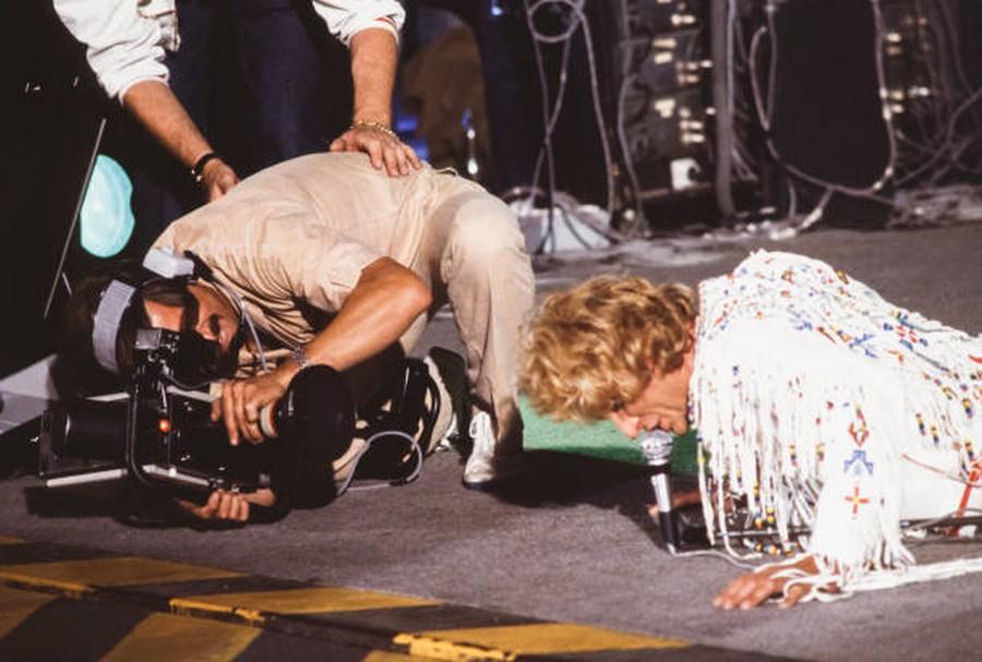 LES CONCERTS DE JOHNNY 'PORTE-AVIONS ''FOCH'', TOULON 1979' Getty138
