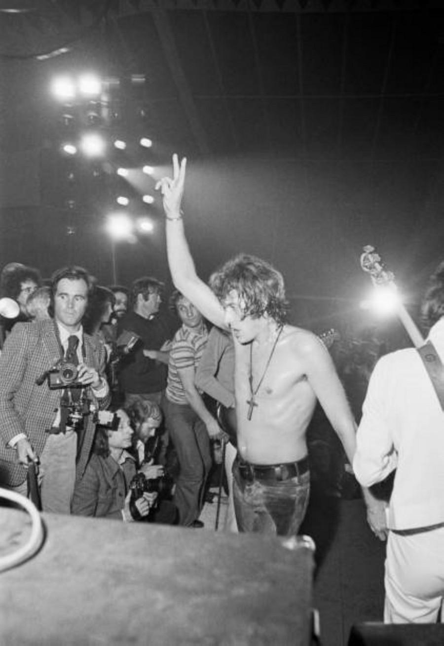 LES CONCERTS DE JOHNNY 'TOURNEE JOHNNY CIRCUS 1972' Getty146