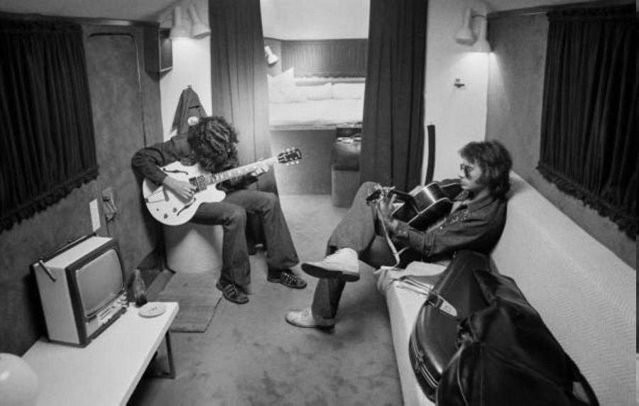 LES CONCERTS DE JOHNNY 'TOURNEE JOHNNY CIRCUS 1972' Getty147