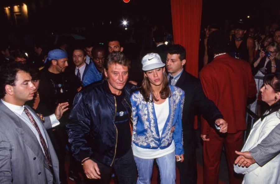 LES CONCERTS DE JOHNNY 'PARC DES PRINCES, PARIS 1993' Getty244