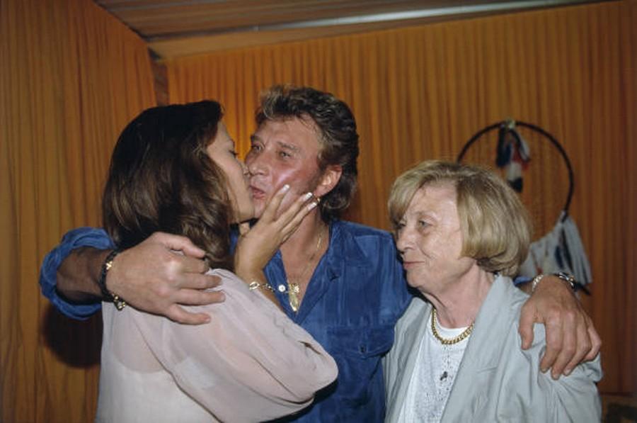 LES CONCERTS DE JOHNNY 'PARC DES PRINCES, PARIS 1993' Getty246