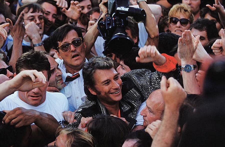 LES CONCERTS DE JOHNNY 'PARC DES PRINCES, PARIS 1993' Getty251