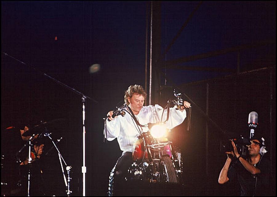 LES CONCERTS DE JOHNNY 'PARC DES PRINCES, PARIS 1993' Getty285