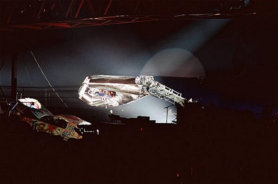 LES CONCERTS DE JOHNNY 'PARC DES PRINCES, PARIS 1993' Getty296