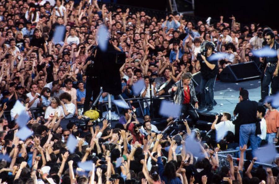 LES CONCERTS DE JOHNNY 'PARC DES PRINCES, PARIS 1993' Getty304