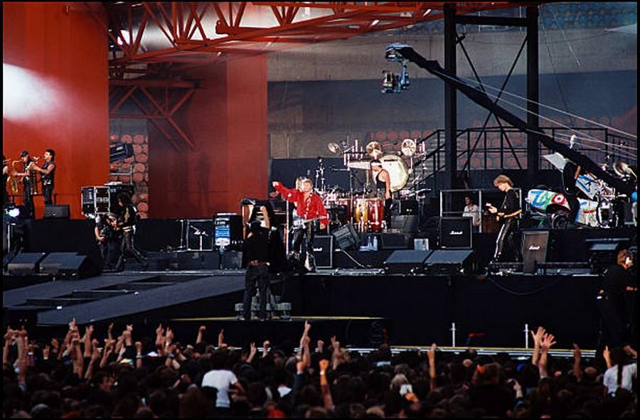 LES CONCERTS DE JOHNNY 'PARC DES PRINCES, PARIS 1993' Getty309