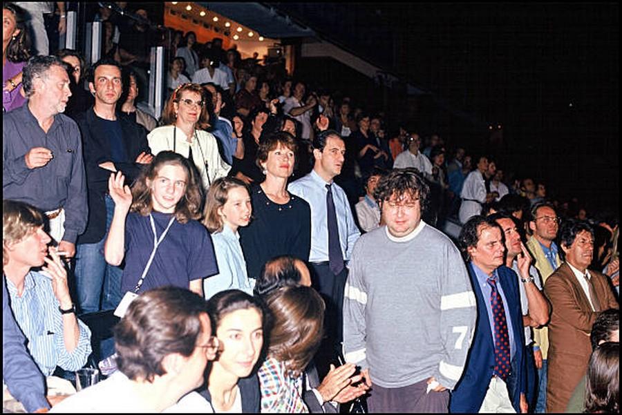 LES CONCERTS DE JOHNNY 'PARC DES PRINCES, PARIS 1993' Getty317