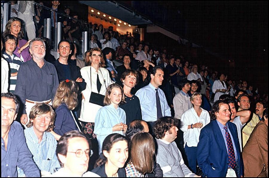 LES CONCERTS DE JOHNNY 'PARC DES PRINCES, PARIS 1993' Getty318