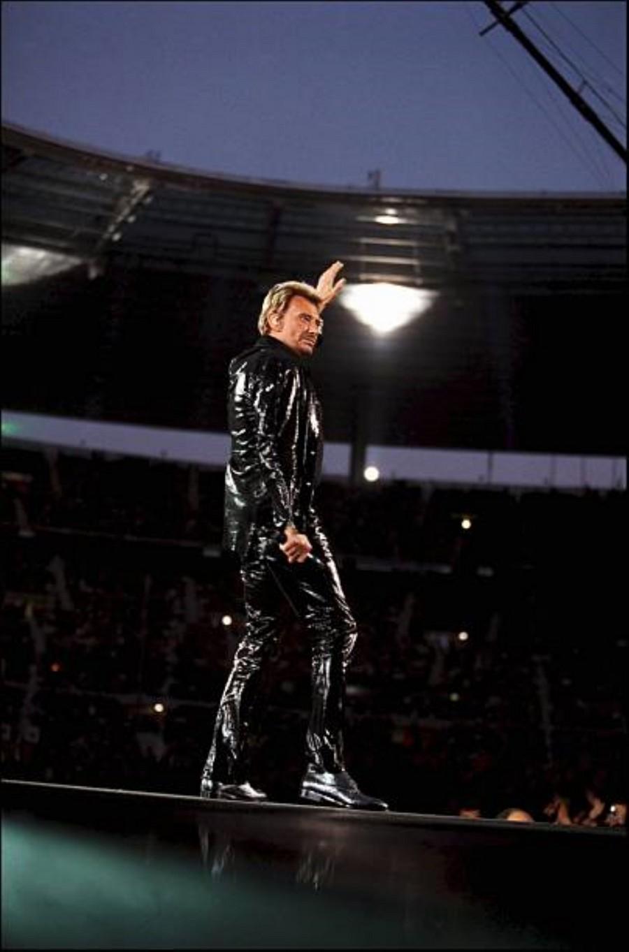 LES CONCERTS DE JOHNNY 'STADE DE FRANCE, SAINT-DENIS 1998' Getty384