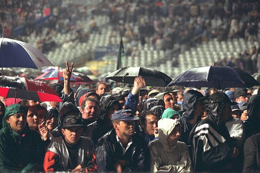 LES CONCERTS DE JOHNNY 'STADE DE FRANCE, SAINT-DENIS 1998' Getty393