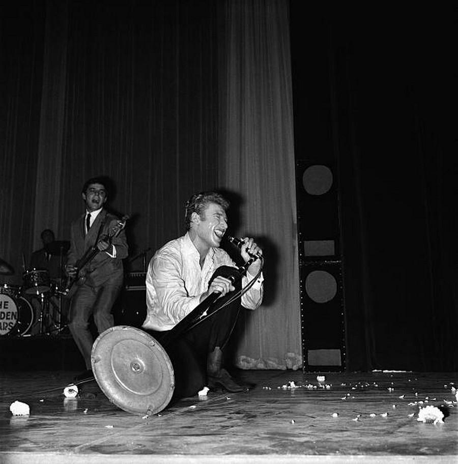 LES CONCERTS DE JOHNNY 'OLYMPIA DE PARIS 1962' Getty491