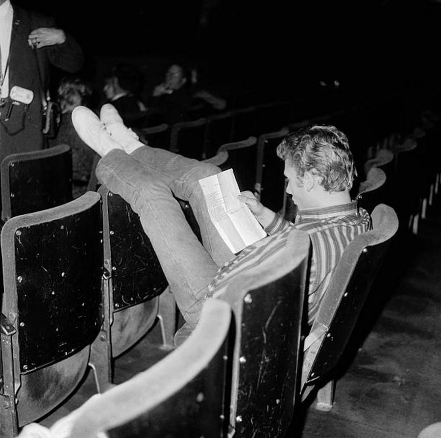 LES CONCERTS DE JOHNNY 'OLYMPIA DE PARIS 1962' Getty493