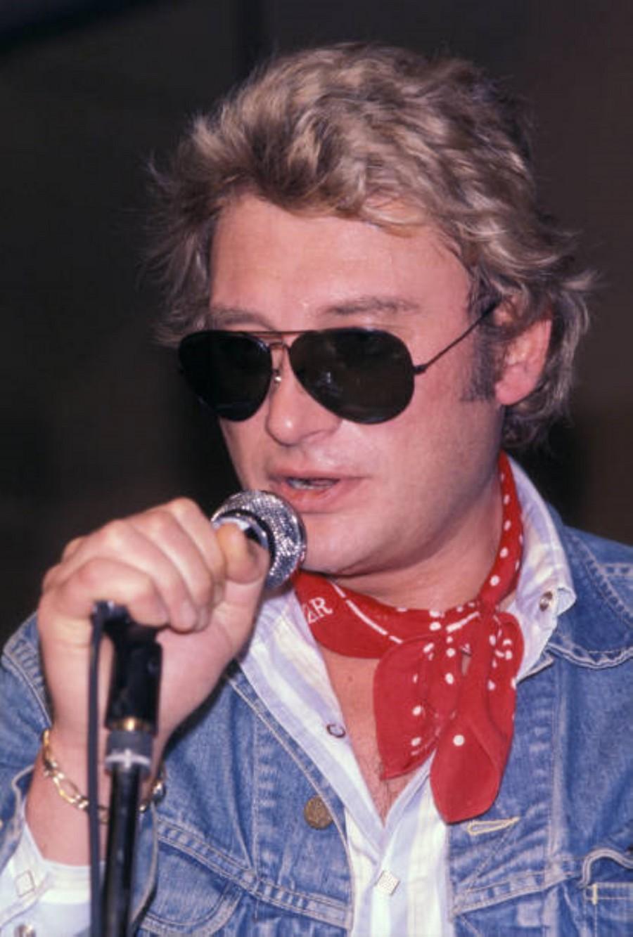 LES CONCERTS DE JOHNNY 'AUXERRE 1978' Getty626