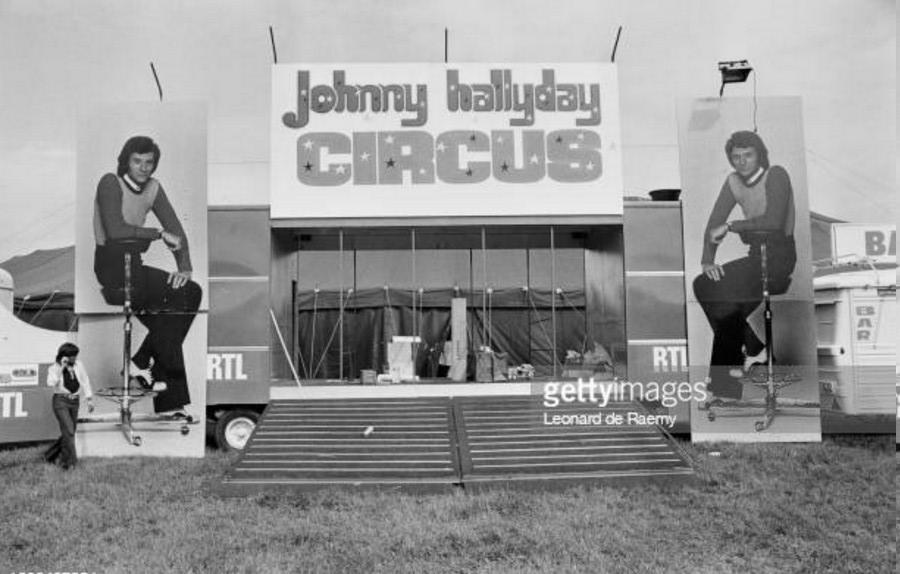 LES CONCERTS DE JOHNNY 'TOURNEE JOHNNY CIRCUS 1972' Getty642