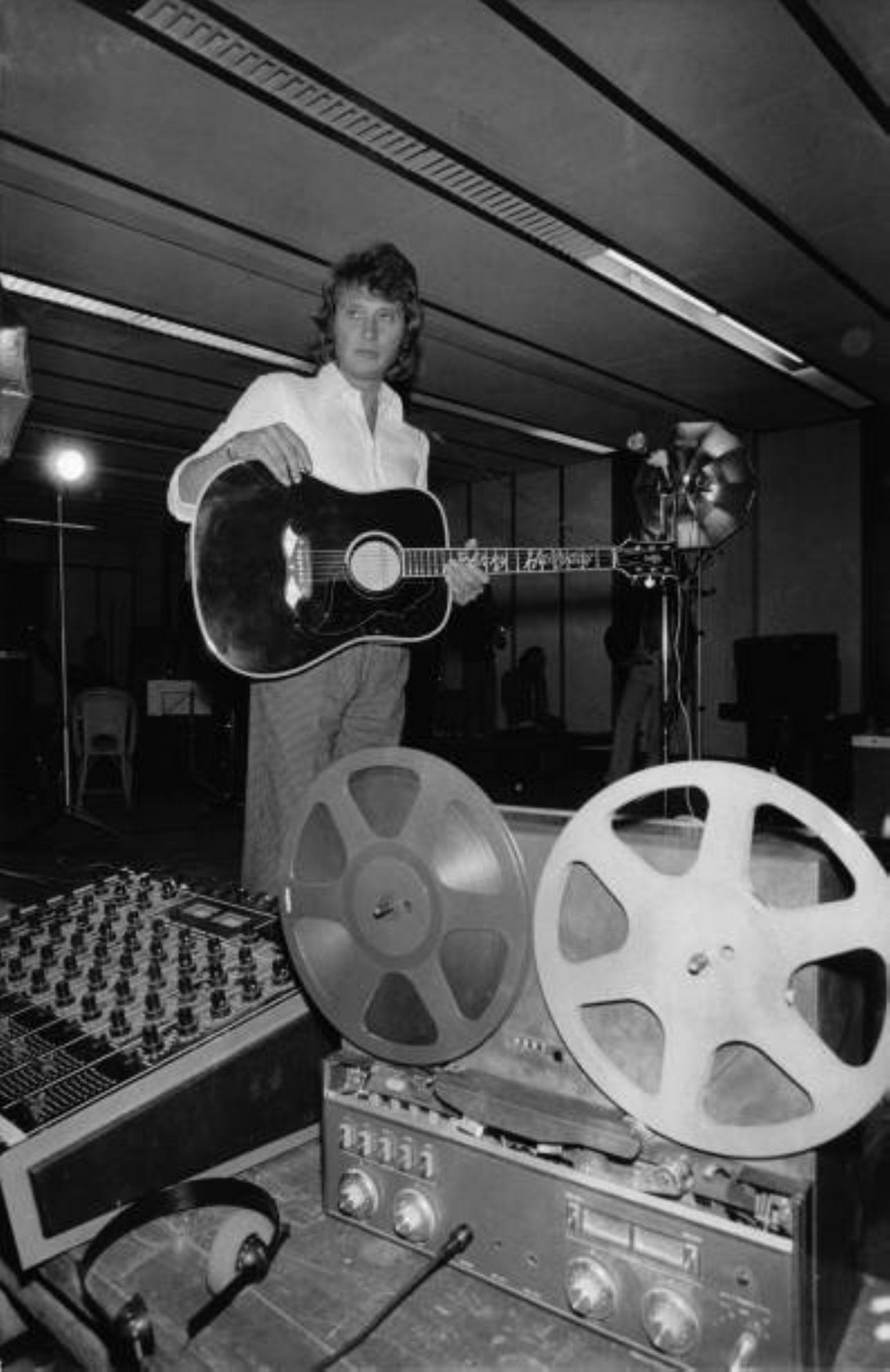 LES CONCERTS DE JOHNNY 'PALAIS DES SPORTS DE PARIS 1976' Getty656