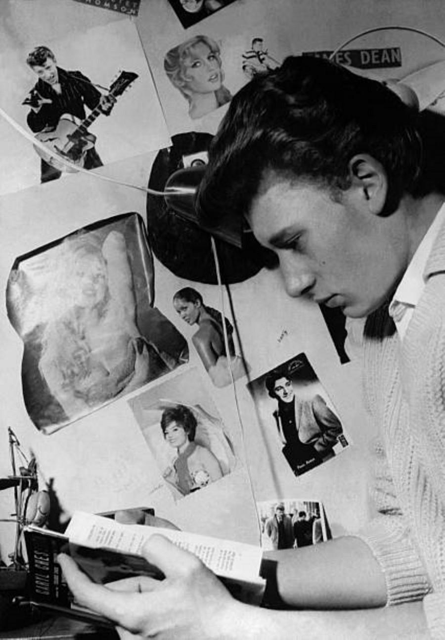 LES CONCERTS DE JOHNNY 'AU VIEUX COLOMBIER, JUAN LES PINS 1960' Getty675