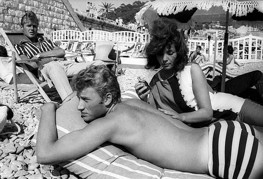 LES CONCERTS DE JOHNNY 'AU VIEUX COLOMBIER, JUAN LES PINS 1960' Getty678