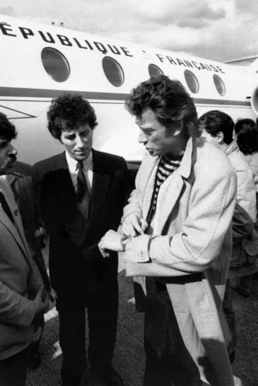 LES CONCERTS DE JOHNNY 'PRINTEMPS DE BOURGES 1985' Getty693