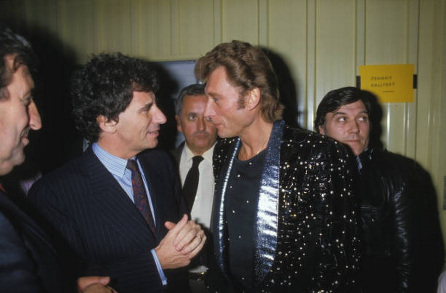 LES CONCERTS DE JOHNNY 'PRINTEMPS DE BOURGES 1985' Getty696