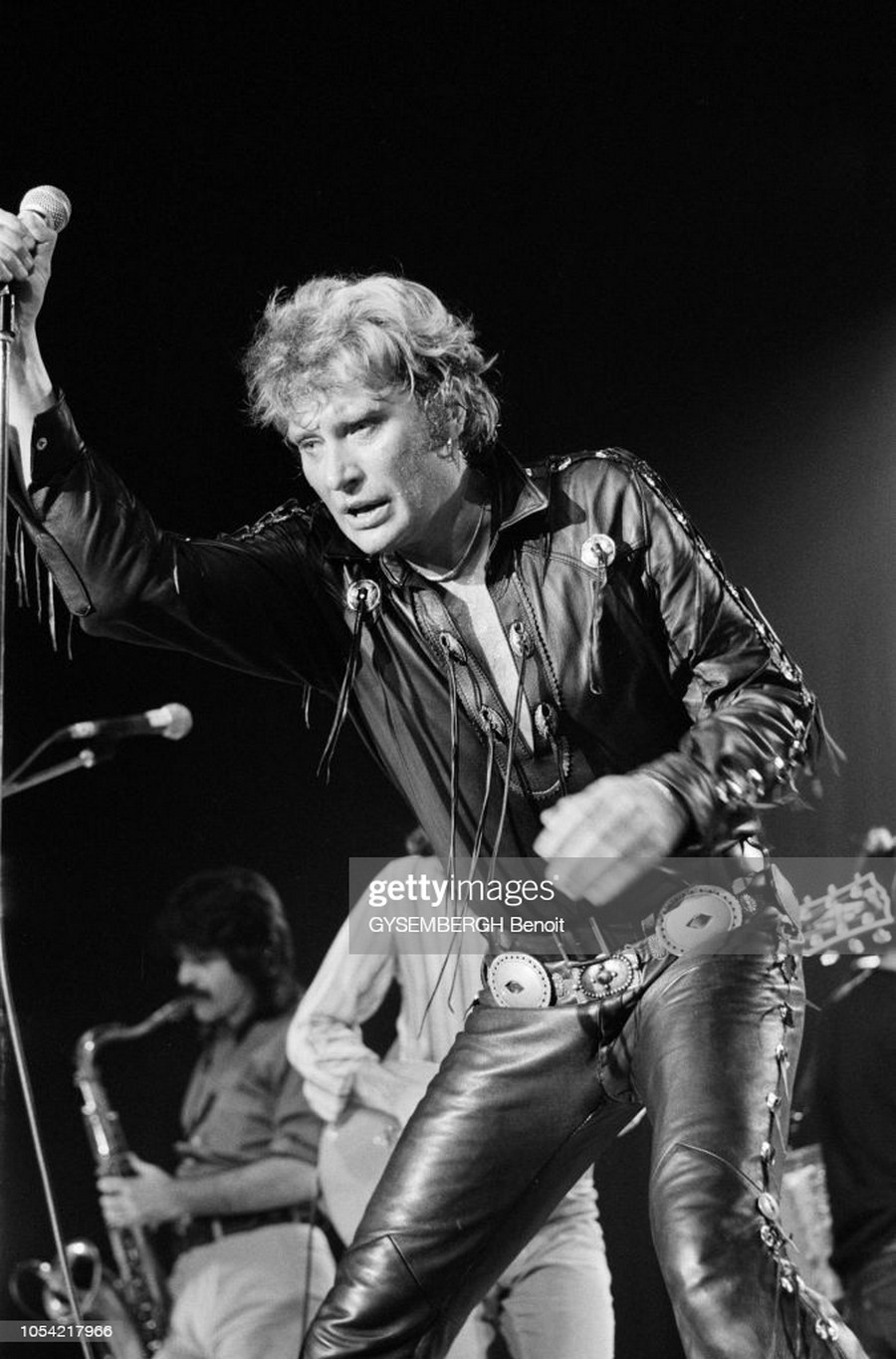 LES CONCERTS DE JOHNNY 'TOURNEE NIGHT RIDER BAND TOUR 1981' Getty878