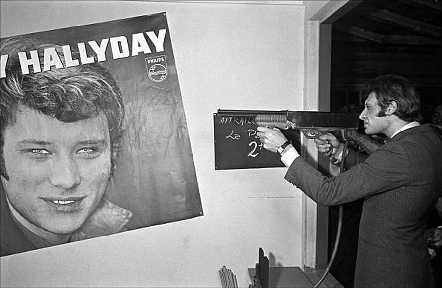 LES CONCERTS DE JOHNNY 'OLYMPIA DE PARIS 1966' Getty892