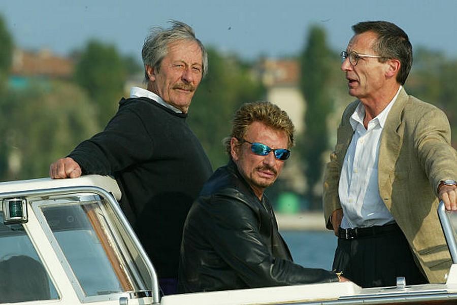LES FILMS DE JOHNNY 'L'HOMME DU TRAIN' 2002 Getty983