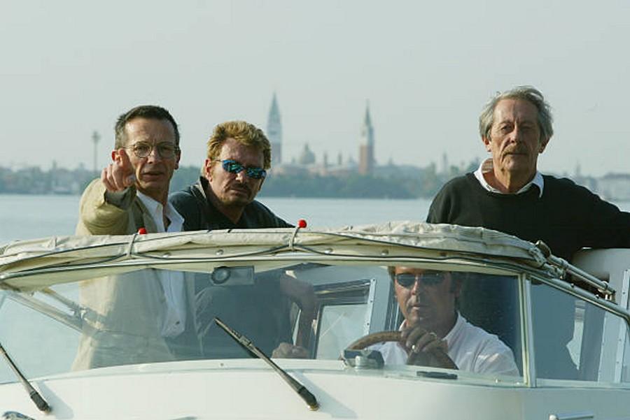 LES FILMS DE JOHNNY 'L'HOMME DU TRAIN' 2002 Getty984