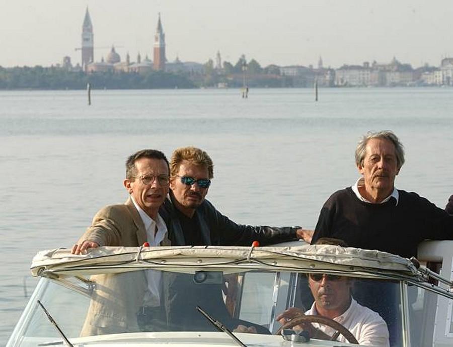 LES FILMS DE JOHNNY 'L'HOMME DU TRAIN' 2002 Getty985