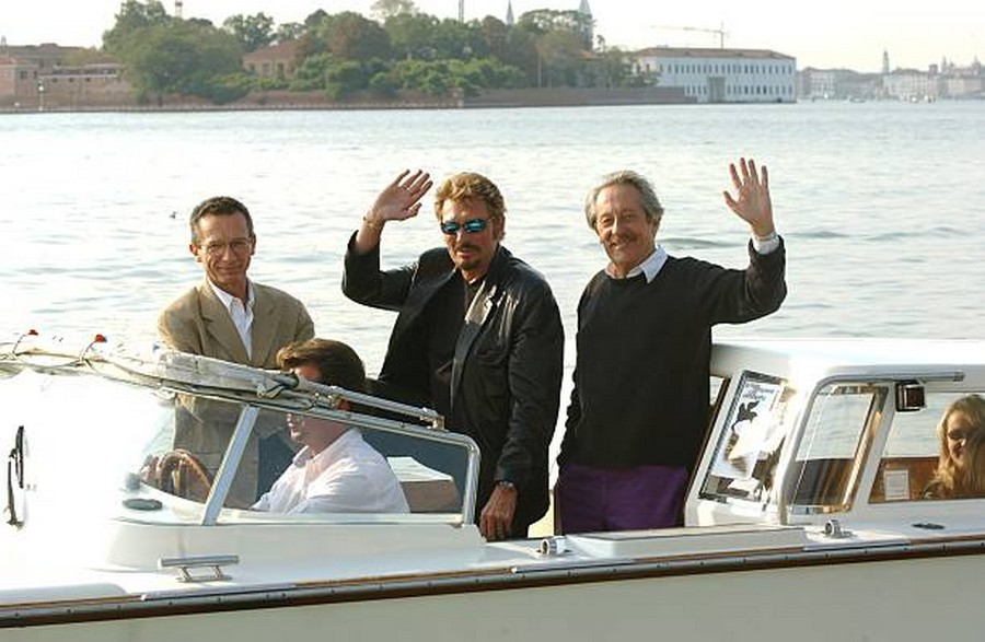 LES FILMS DE JOHNNY 'L'HOMME DU TRAIN' 2002 Getty987