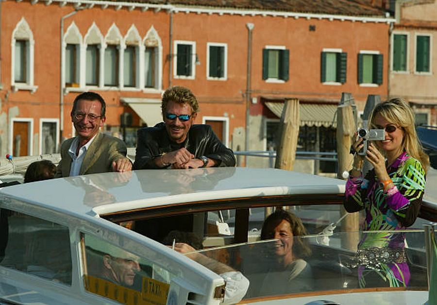 LES FILMS DE JOHNNY 'L'HOMME DU TRAIN' 2002 Getty990