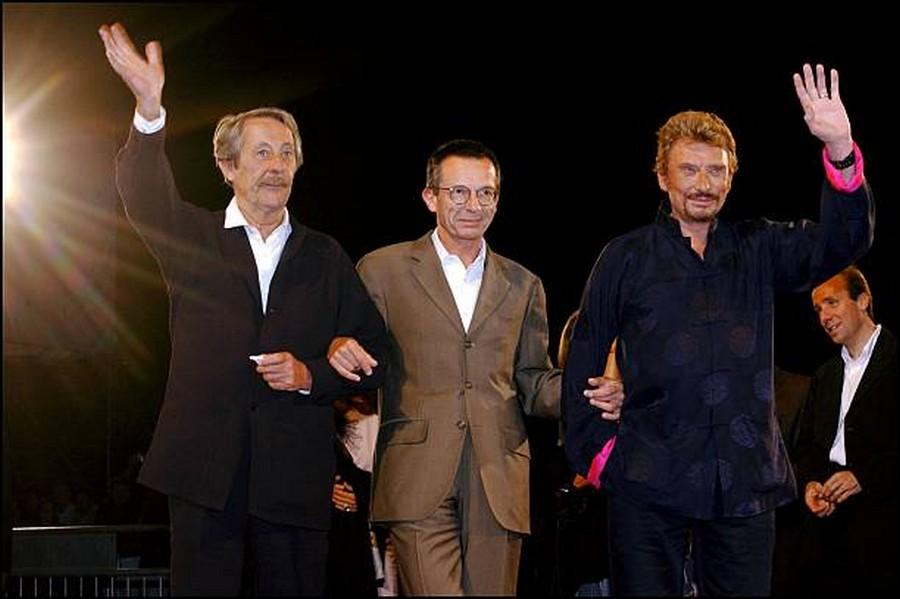 LES FILMS DE JOHNNY 'L'HOMME DU TRAIN' 2002 Getty991