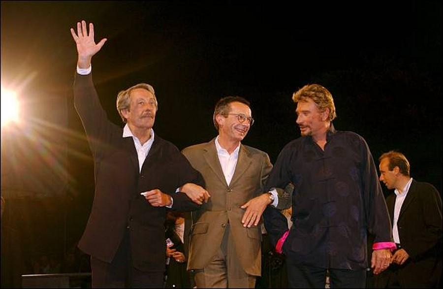 LES FILMS DE JOHNNY 'L'HOMME DU TRAIN' 2002 Getty992