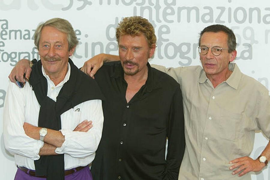 LES FILMS DE JOHNNY 'L'HOMME DU TRAIN' 2002 Getty993