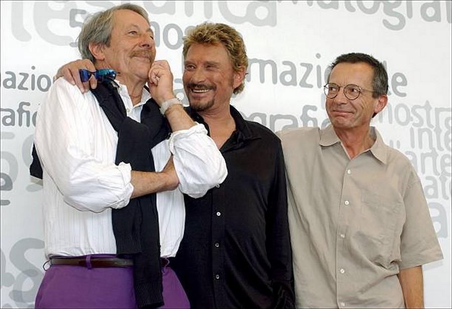 LES FILMS DE JOHNNY 'L'HOMME DU TRAIN' 2002 Getty994