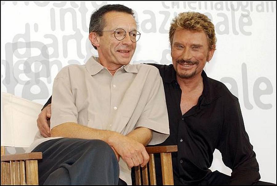 LES FILMS DE JOHNNY 'L'HOMME DU TRAIN' 2002 Getty999