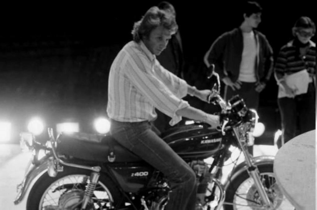 KAWASAKI Z 400 DE JOHNNY HALLYDAY ( 1975 ) Gettyi31