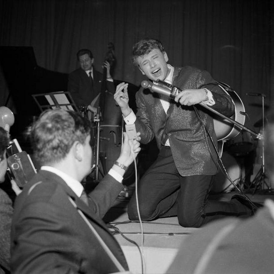LES CONCERTS DE JOHNNY 'PALAIS DES SPORTS 1961' Gettyi73