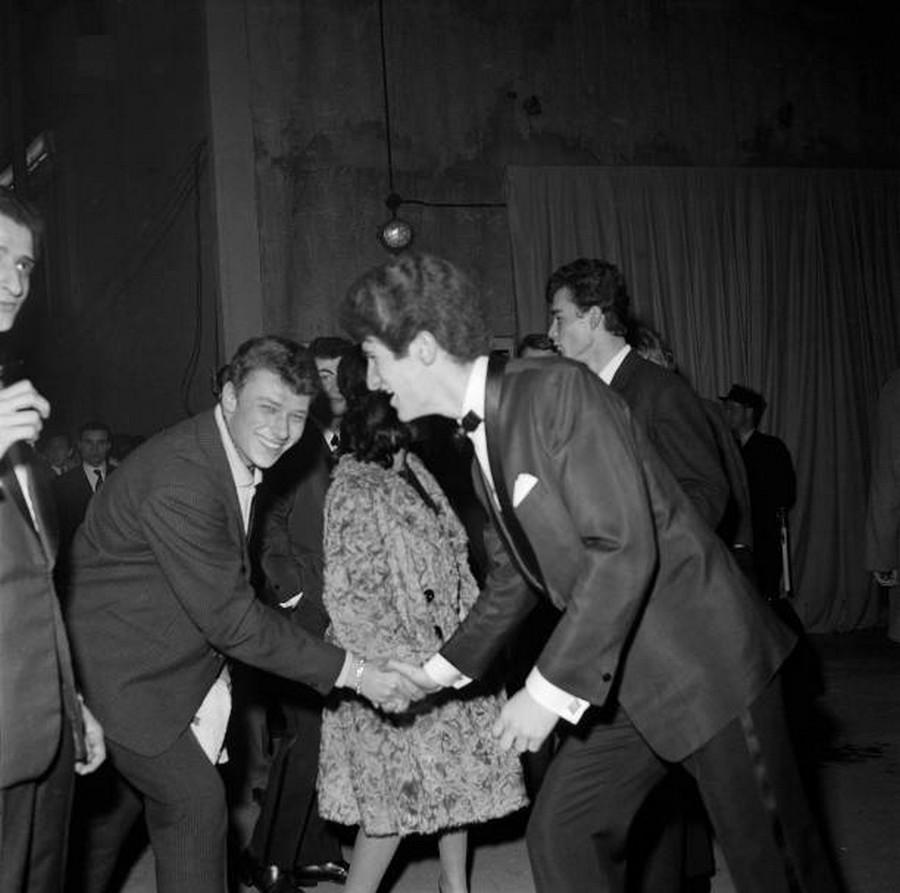 LES CONCERTS DE JOHNNY 'PALAIS DES SPORTS 1961' Gettyi77