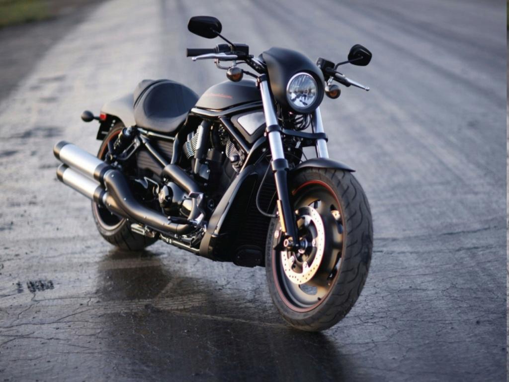 HARLEY-DAVIDSON VRSCDX NIGHT ROD DE JOHNNY HALLYDAY ( 2007 ) Harley21