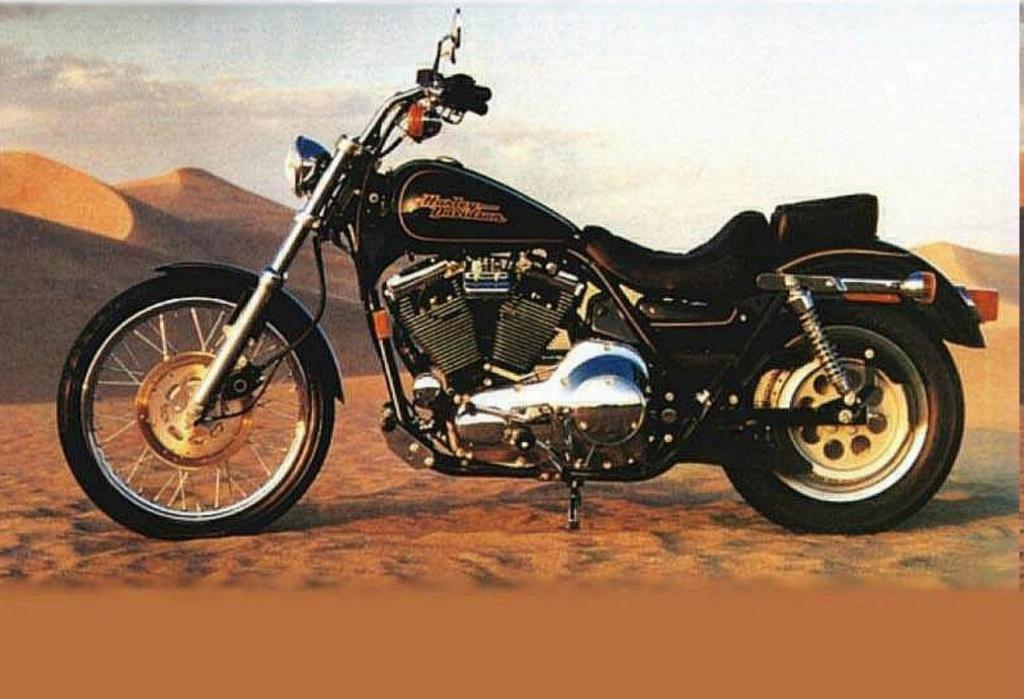 HARLEY DAVIDSON FXRS 1340 LOW RIDER DE JOHNNY HALLYDAY ( 1987 ) Harley26