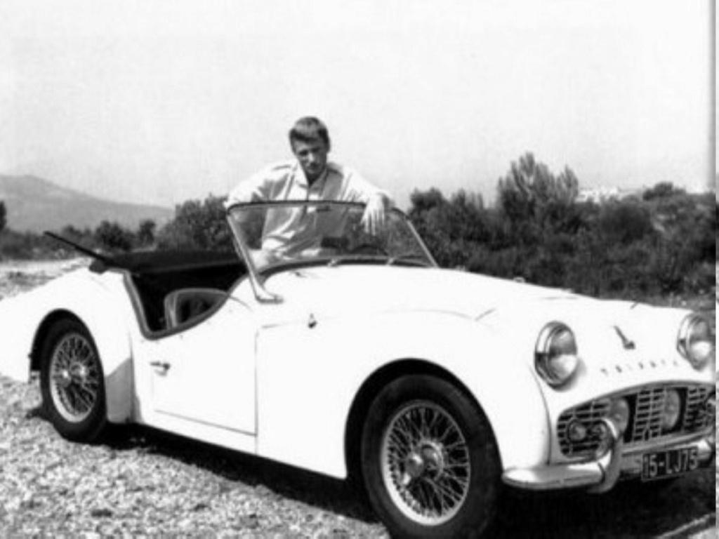 TRIUMPH TR3 DE JOHNNY HALLYDAY ( 1961 ) I2828812