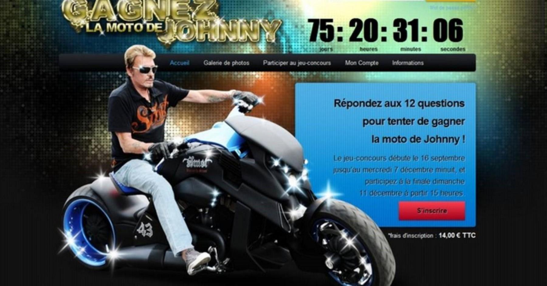 TRAVERTSON V-REX DE JOHNNY HALLYDAY ( 2008 ) Images24