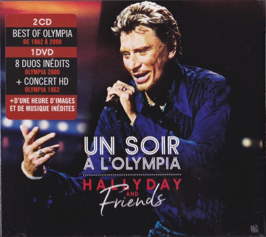 UN SOIR A L 'OLYMPIA - HALLYDAY AND FRIENDS ( 2 CD + 1 DVD ) Img21