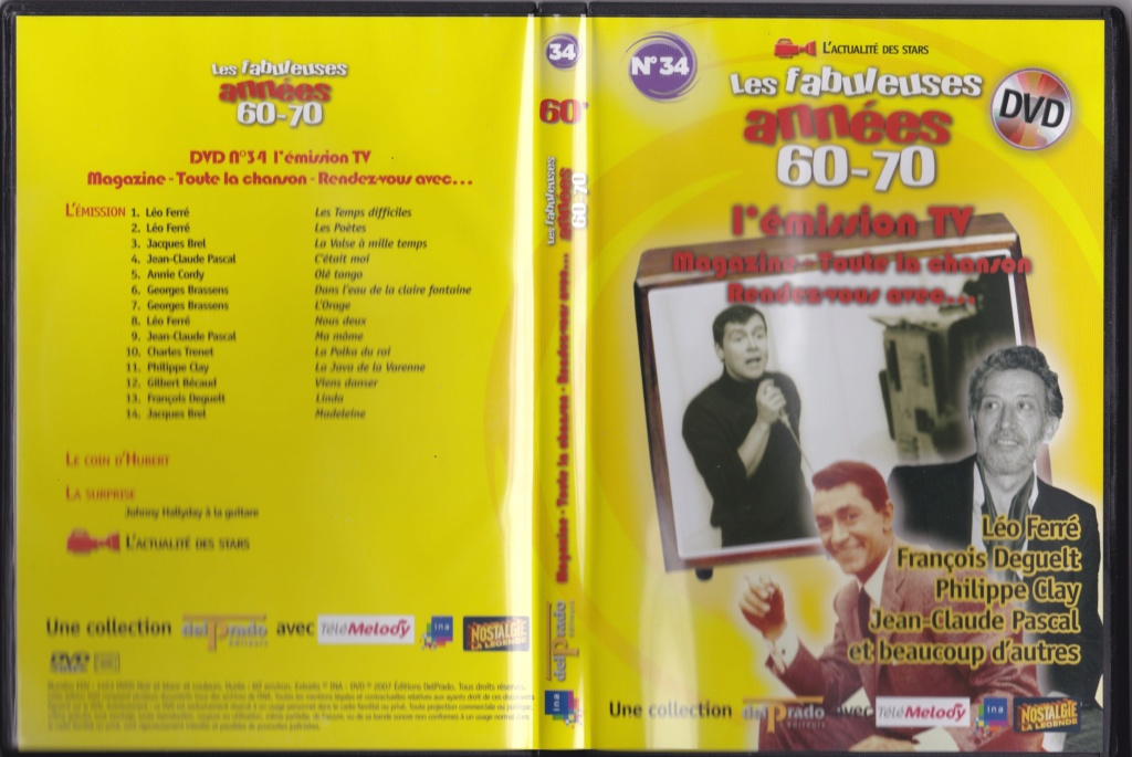 JAQUETTE DVD EMISSIONS TV , DOCUMENTS ,COMPILATIONS , ETC ( Jaquette + Sticker ) Img24