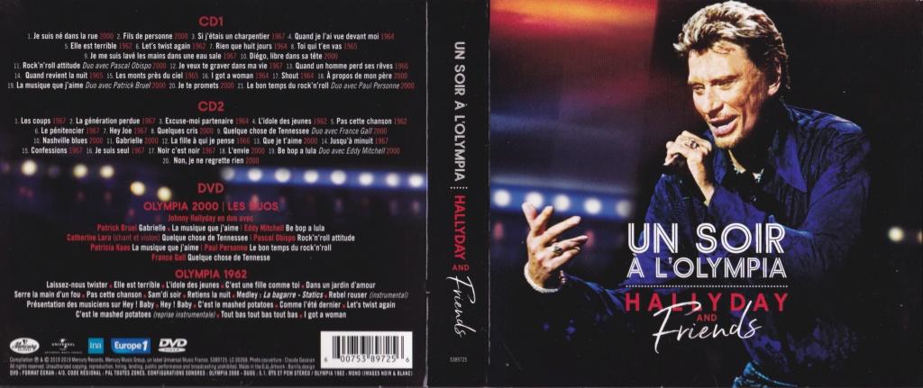 UN SOIR A L 'OLYMPIA - HALLYDAY AND FRIENDS ( 2 CD + 1 DVD ) Img_0066